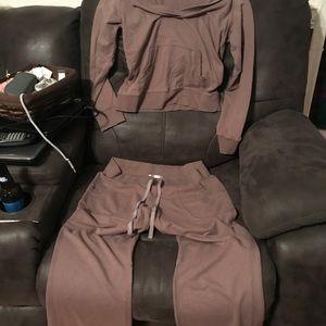 Victoria's Secret lounge outfit